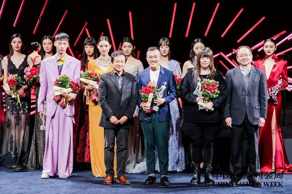 【國際大賞】恭喜! 潘怡良教授獲得中國時尚大獎2018年最佳男裝設計師大獎